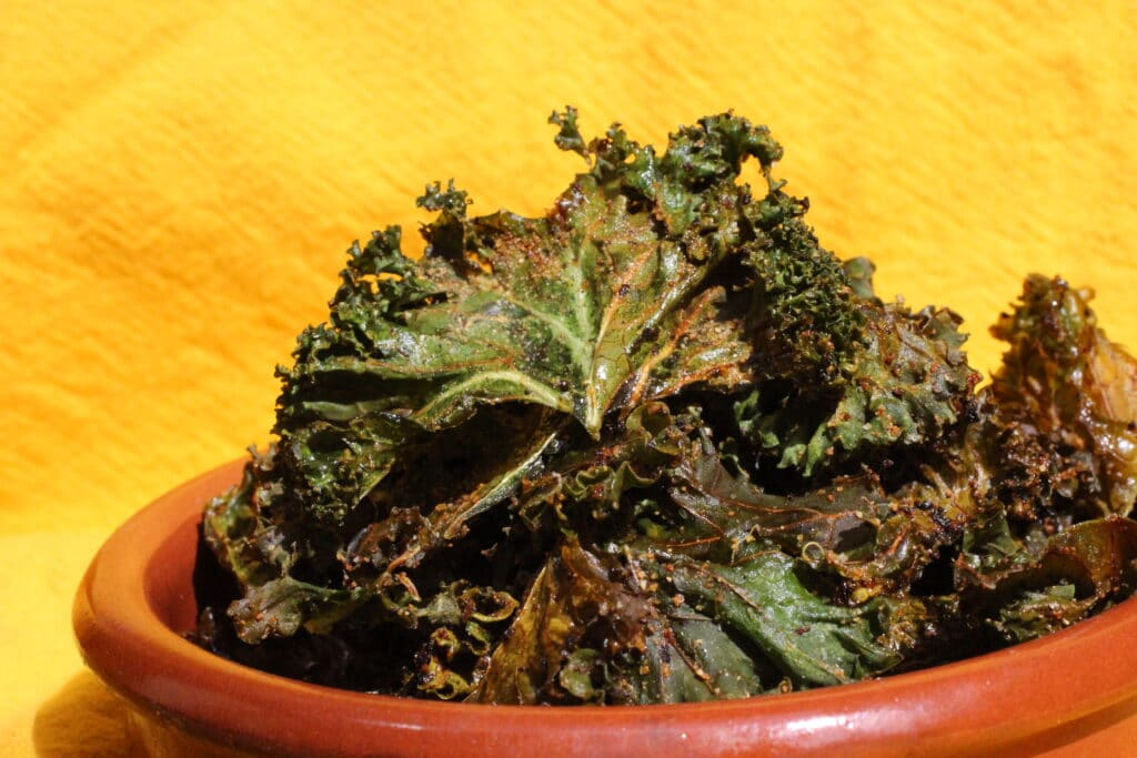 Zesty Kale Chips